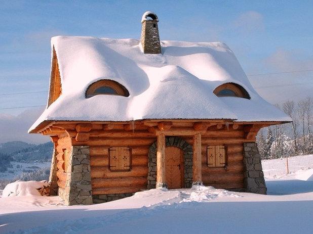 Rustico Facciata by The Little Log House Company