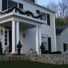 Traditional Exterior by DesignAnts LLC