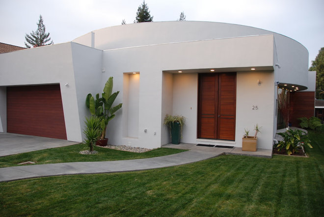 Contemporary Exterior by M. Designs Architects