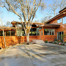 Contemporary Exterior by Stoecker and Northway Architects, Inc.