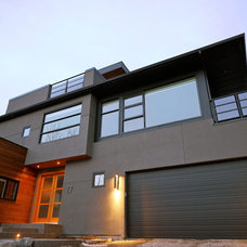 Modern Exterior by Alloy Homes Incorporated