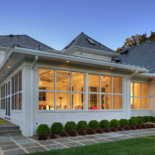 Trendy exterior home photo in DC Metro