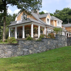 Traditional Exterior by Jeff Wilkinson, RA