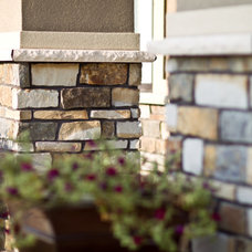 Traditional Exterior by Edward's Stone