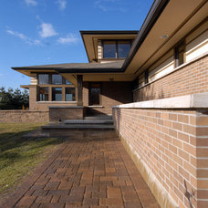 Contemporary Exterior by Kaufman Construction Design and Build