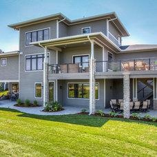 Exteriors for Capstone exterior design firm