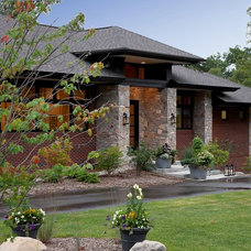 Contemporary Exterior by VanBrouck & Associates, Inc.