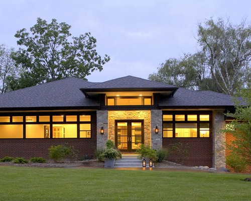 Prairie style home home design ideas pictures remodel for Modern prairie