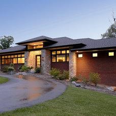 Contemporary Exterior by VanBrouck & Associates, Inc.