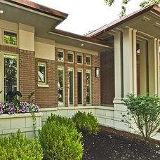 Craftsman Exterior by Ladesic & Scott Builders