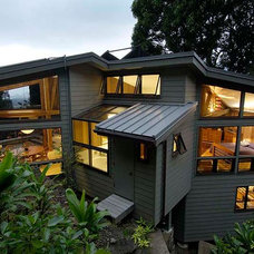 Contemporary Exterior by Scott R Wilson AIA Architect