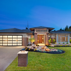 Transitional Exterior by Sticks and Stones Design Group Inc