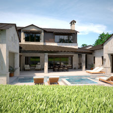 Modern Exterior by Premier Partners Homes