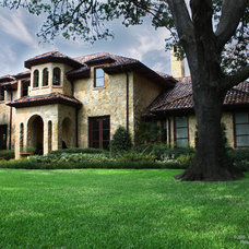 Mediterranean Exterior by Preston Custom Homes