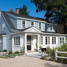 Traditional Exterior by Nashawtuc Architects, Inc.
