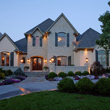 Traditional Exterior by Hensley Custom Building Group