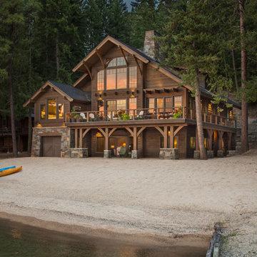 Priest Lake Beach House- Exterior