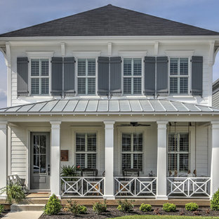 Houzz | 50+ Best Beach Style Exterior Home Pictures - Beach Style ...