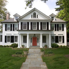 traditional exterior by Dennison and Dampier Interior Design