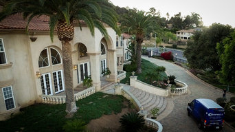 Privacy Window Film for Celebrity Mansion
