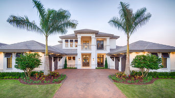 Private Estate | Antigua: Transitional styling for luxury indoor/outdoor living.