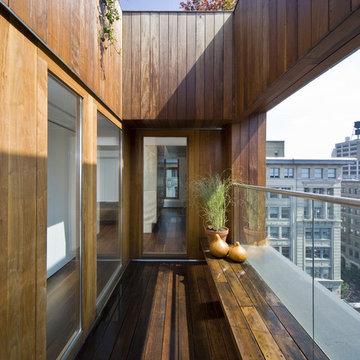 Private exterior terrace