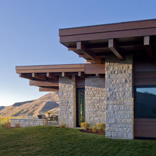 Contemporary Exterior by Kevin Syms Photography