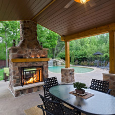 Traditional Exterior by THE OHIO VALLEY GROUP, INC.
