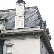 Traditional Exterior by Shelton Masonry + Contracting