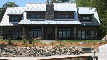 Private Residence - Accessible Custom Log Lake Home
