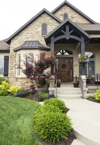 Traditional Exterior by Alice Lane Home Collection