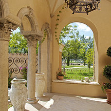 Mediterranean Exterior by CGN Designs LLC