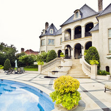 Traditional Exterior by Fusch Architects, Inc.