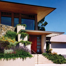 midcentury exterior by Sutton Suzuki Architects