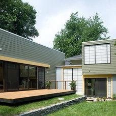 Contemporary Exterior by Jim Tetro