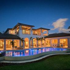 Mediterranean Exterior by Harwick Homes