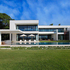 Modern Exterior by Opustone