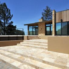 Contemporary Exterior by RJ Dailey Construction Co.