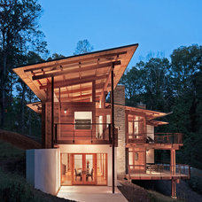 Contemporary Exterior by Studio One Architecture, Inc.