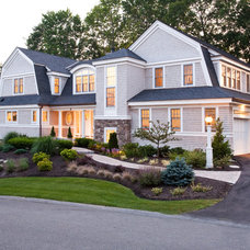 Beach Style Exterior by Windover Construction