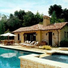 Mediterranean Exterior by BraytonHughes Design Studios