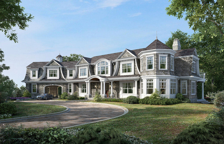 Private Shingle Style Home In Bergen County NJ