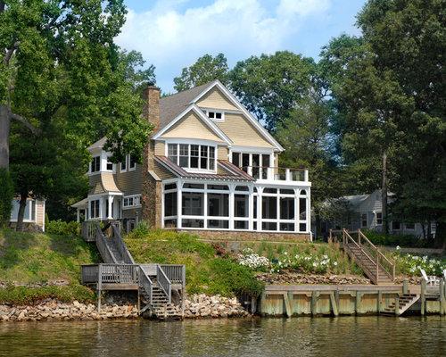 Lake House Sunroom Houzz