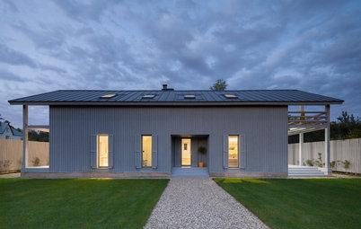 Houzz тур: Деревянный дом с нордическим характером