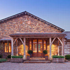 Rustic Exterior by DK Design