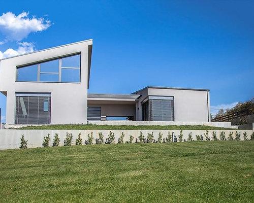 Immagini Case Grigie : Foto e idee per facciate di case facciata di una casa con