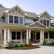 Contemporary Exterior by Cabin John Builders