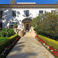 Mediterranean Exterior by Tim Nelson | Willis Allen Real Estate