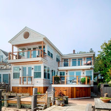 Beach Style Exterior by Cape Associates, Inc.