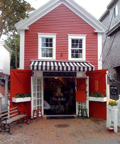 Traditional Exterior Provincetown Shop by Becky Harris